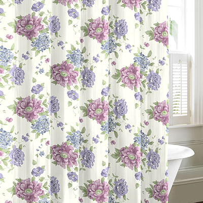 Laura Ashley Milner Shower Curtain From Beddingstyle