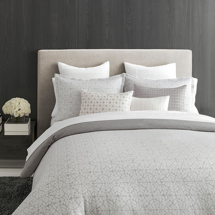 King Duvet Vera Wang Mirrored Square