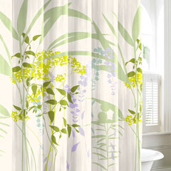 Mixed Floral Shower Curtain