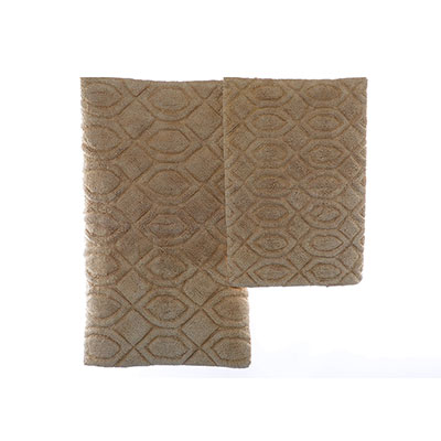 Candice Olson Moda Mink Bath Rug Set