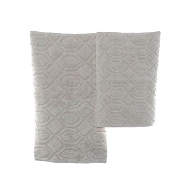 Candice Olson Moda Silver Grey Bath Rug Set