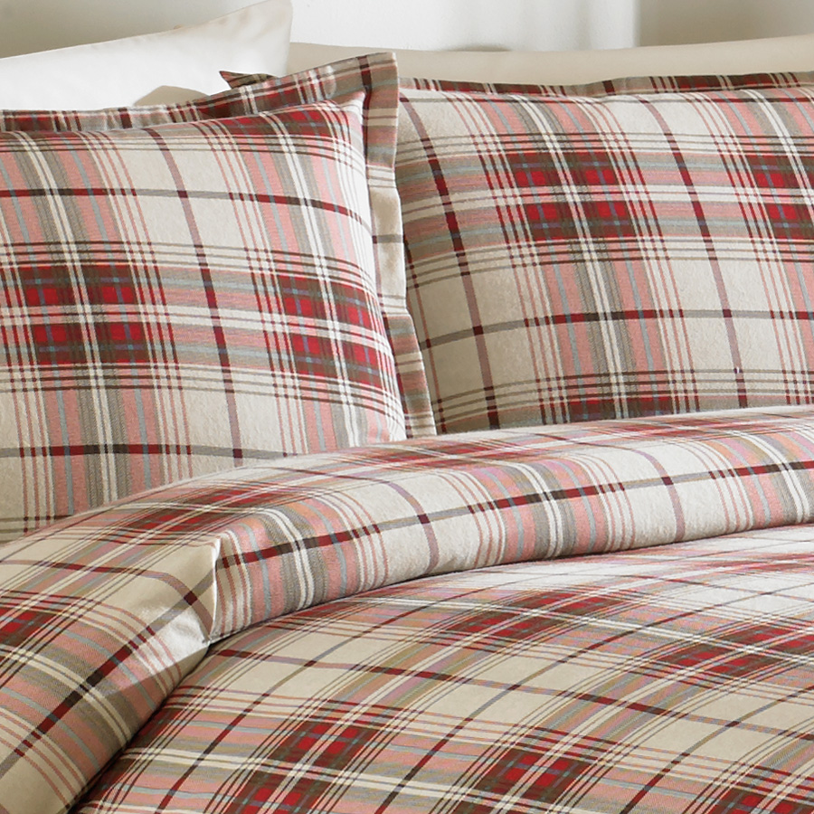 Eddie Bauer Montlake Flannel Duvet Set From Beddingstyle Com