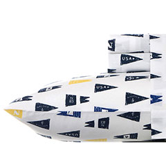 Moonsail Navy Sheet Set