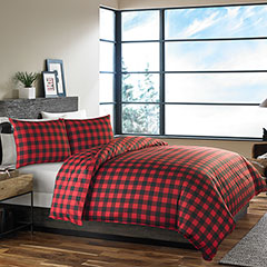 Mountian Plaid Scarlet Comforter & Duvet Set