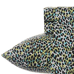 Multi Leopard Wild Lime Sheet Set