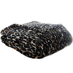 Patti Labelle Multi Leopard Throw Blanket