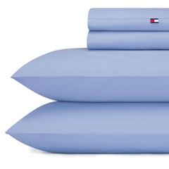Nantucket Blue Solid Sheet Set