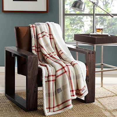 Eddie Bauer Newcastle Throw Blanket From Beddingstyle Com