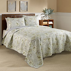 Newport Textured Neutral Quilt Set