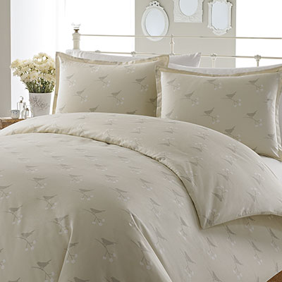 Laura Ashley Nightingale Beige Duvet Set