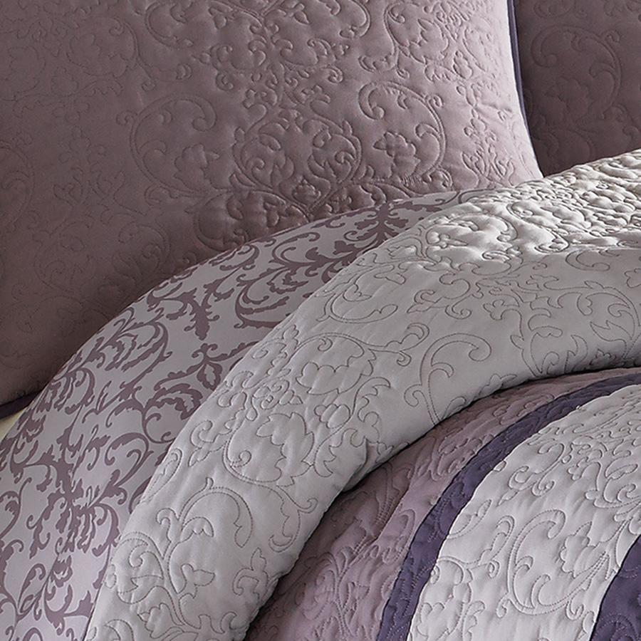 Nicole Miller Damask Comforter Set From Beddingstyle Com