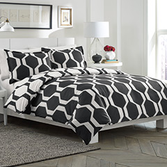 Obsidian Reversible Duvet Set