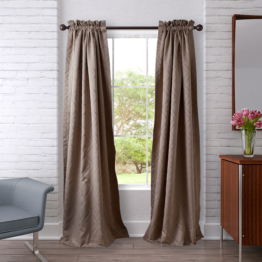 Pair of Drapes 54 x 84 Heritage Landing Ogee