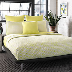 Optical Geo Lemon Drop Quilt Set