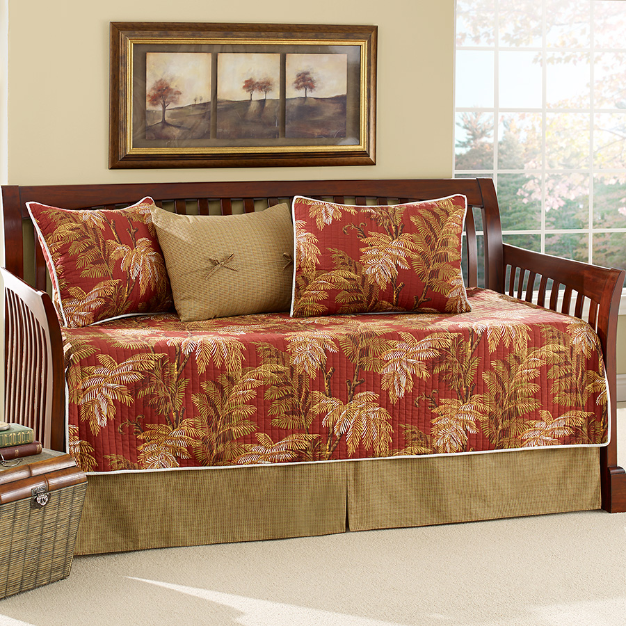 Tommy bahama orange cay daybed from Tommy bahama bedding