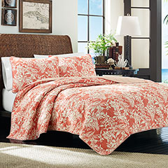 Tommy Bahama  Orchid Retreat Quilt