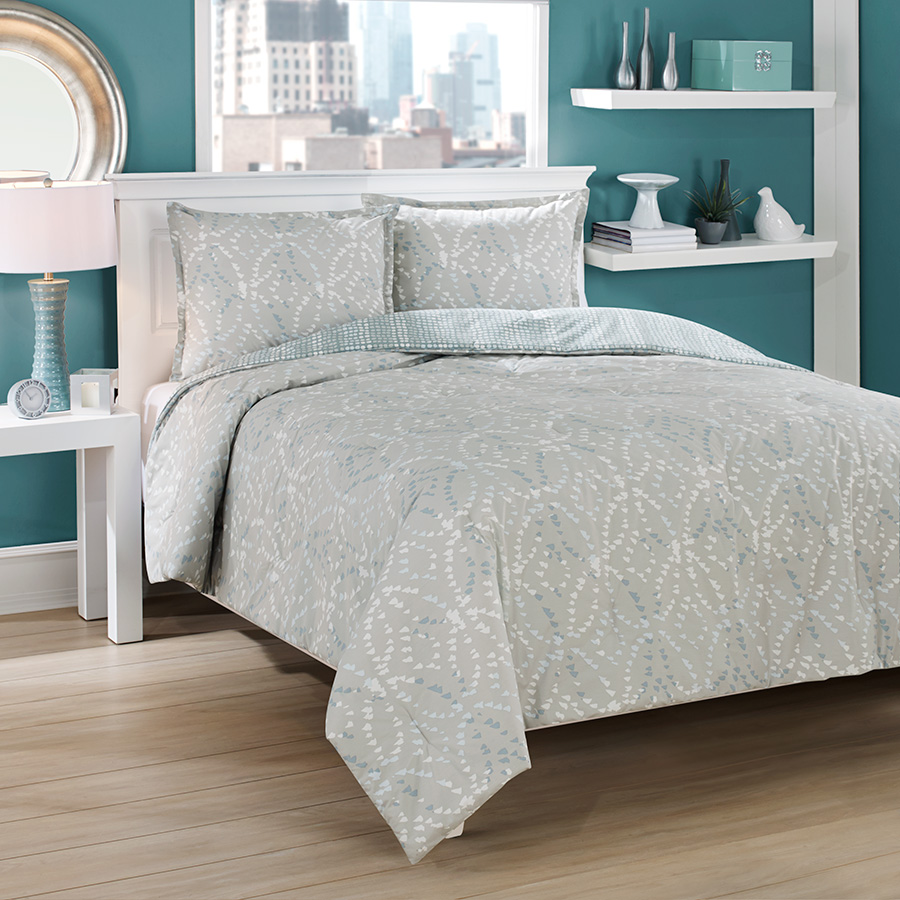 city loft ovaloid reveresible comforter duvet set from. Black Bedroom Furniture Sets. Home Design Ideas