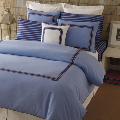 Tommy Hilfiger Oxford Blue Comforters and Duvets