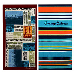Tommy Bahama Paddleboard & Pirate Bay Beach Towel Set