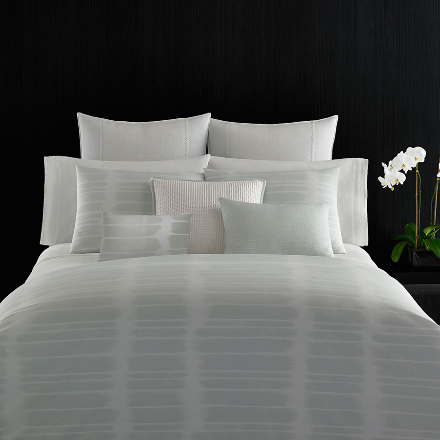 King Duvet Cover Vera Wang Painted Stripe