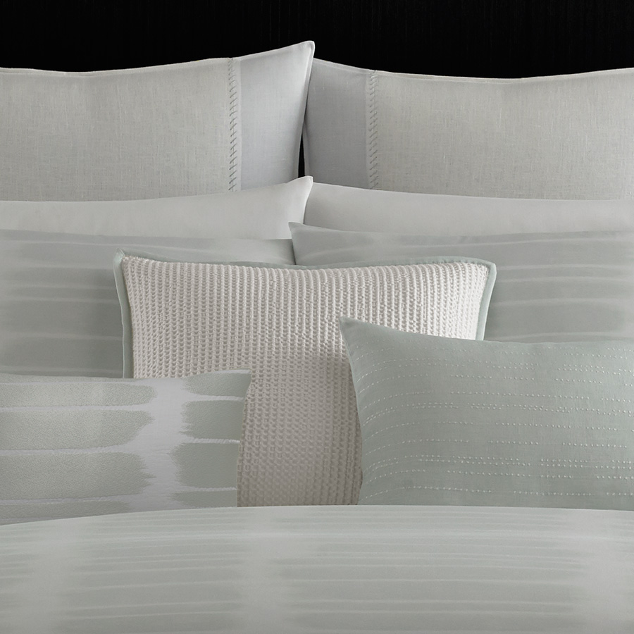 Vera Wang Painted Stripe Duvet Set From Beddingstyle Com