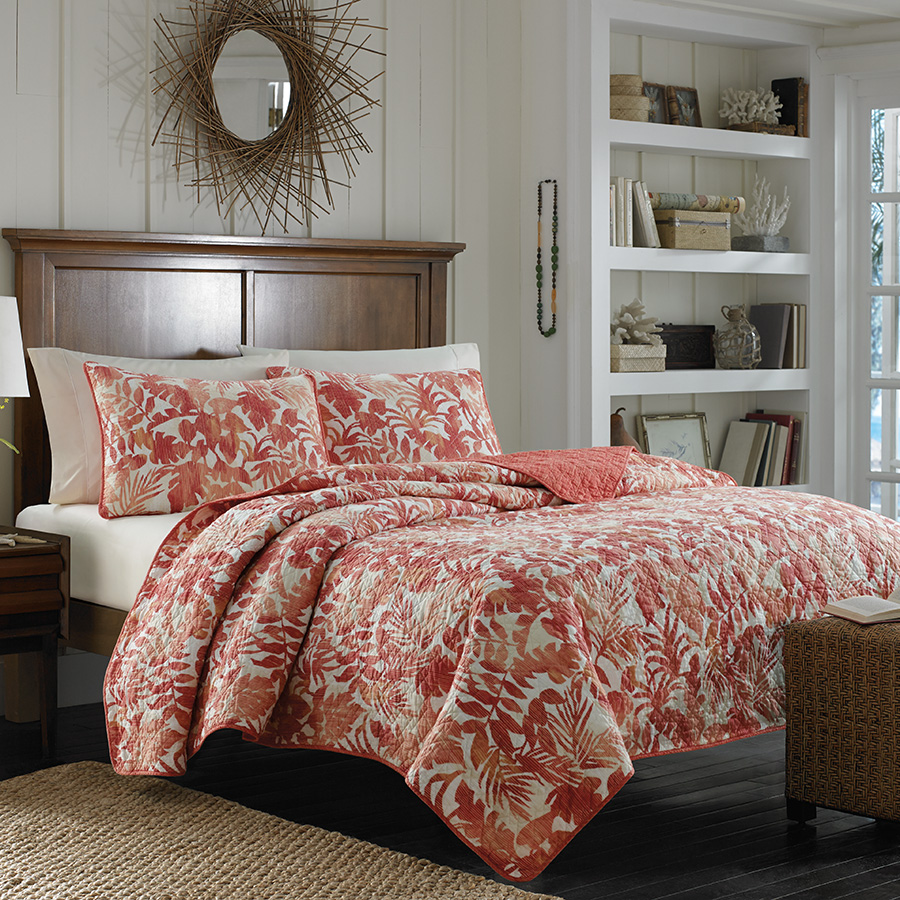 Tommy bahama palma sola quilt from beddingstyle com