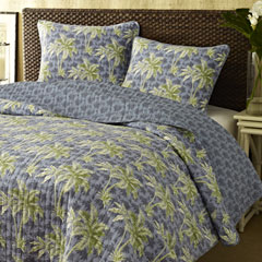 Palm Breeze Quilt Set