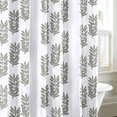 Paloma Leaf Shower Curtain