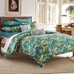 Paradise Palm Duvet Set