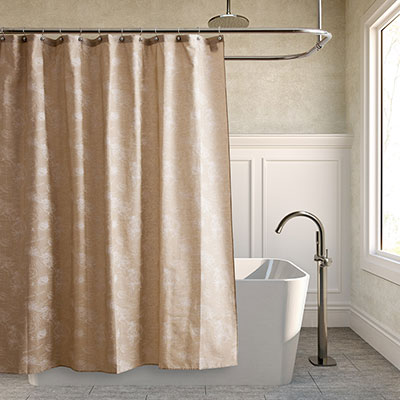 Tommy Bahama Paradise Postcard Shower Curtain From