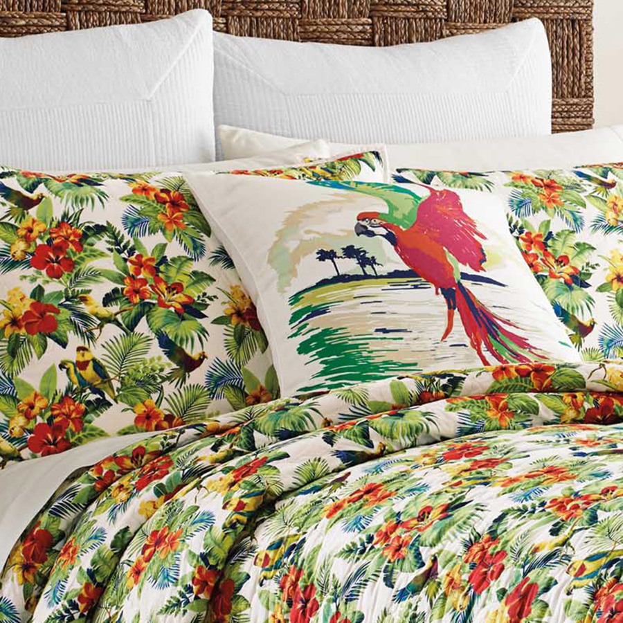 Tommy Bahama Parrot Cove Quilt From Beddingstyle Com