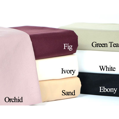 Patti La Belle Solid Microfiber Sheet Sets