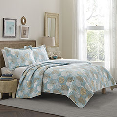 Laura Ashley Pearl Sky Quilt Set