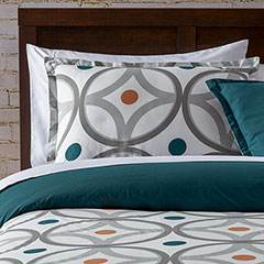 City Scene Pembo Copper Comforter & Duvet Set