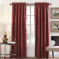 Perry Ellis Brick Blackout Window Drapes