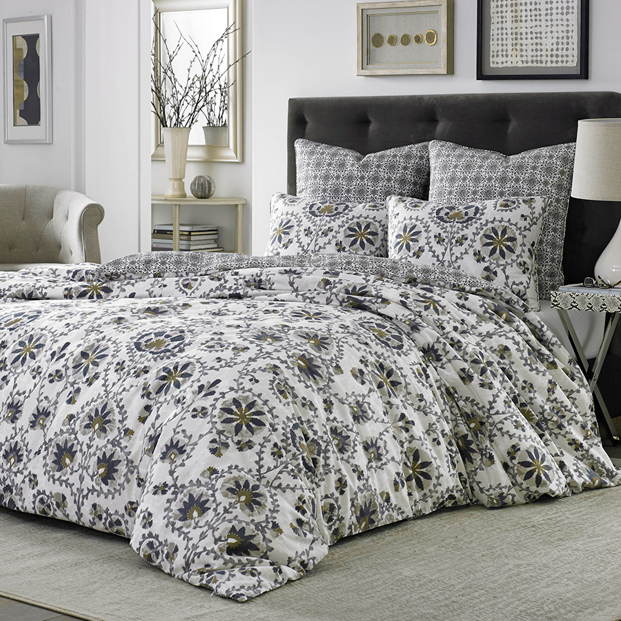 Full Queen Duvet Set Stone Cottage Petya
