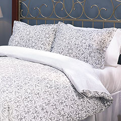 Stone Cottage Peyton Dark Grey Comforter & Duvet Set