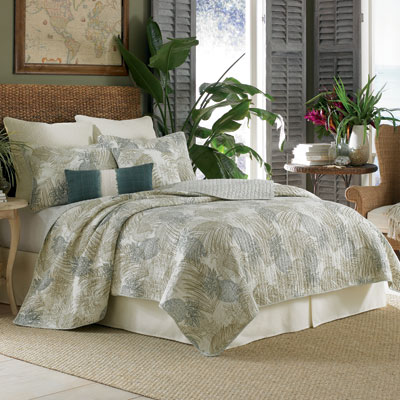 Tommy Bahama Pineapple Paradise Quilt