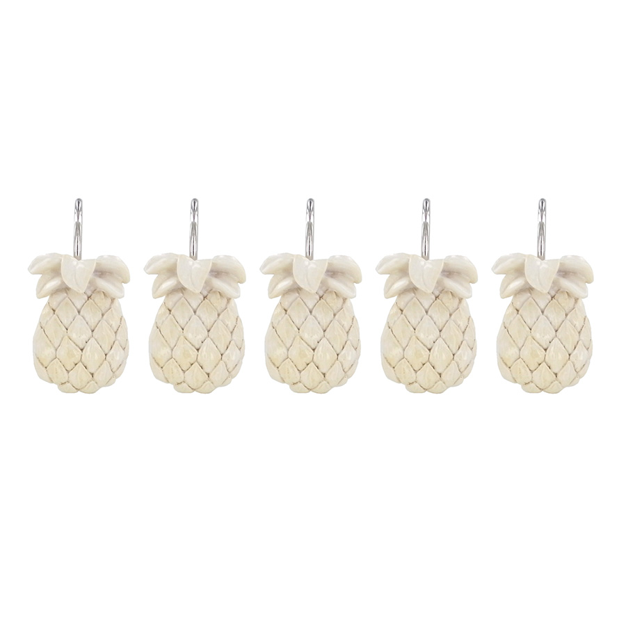 shower curtain hooks tommy bahama pineapple