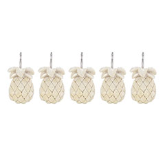 Tommy Bahama Pineapple Shower Curtain Hooks