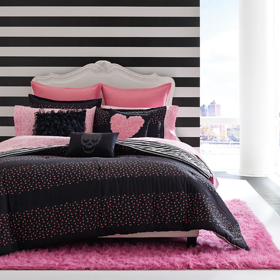 Twin Comforter Set Betsey Johnson Punk Princess