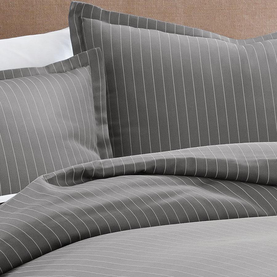 Eddie Bauer Pinstripe Duvet Set From Beddingstyle Com