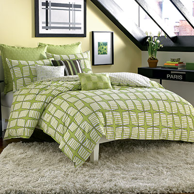 Not Neutral Pinwheel Duvet Cover Set
