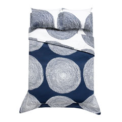 Pippurikera Navy Duvet Cover