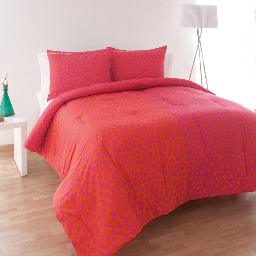 Twin Comforter Set Agatha Ruiz De La Prada Polka Bicolor