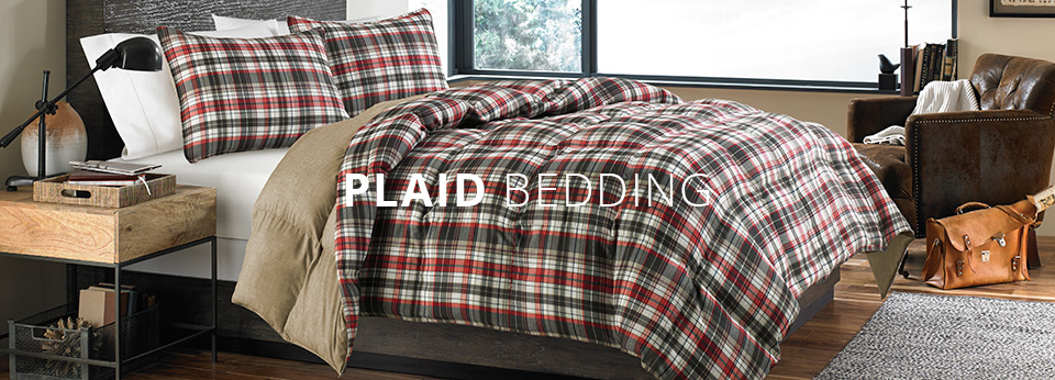 Shop Plaid Bedding Plaid Sheets Amp Comforters At