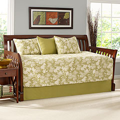 Plantation Floral Lime Daybed