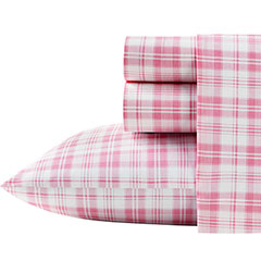Poppy & Fritz Plaid Pink Sheet Set