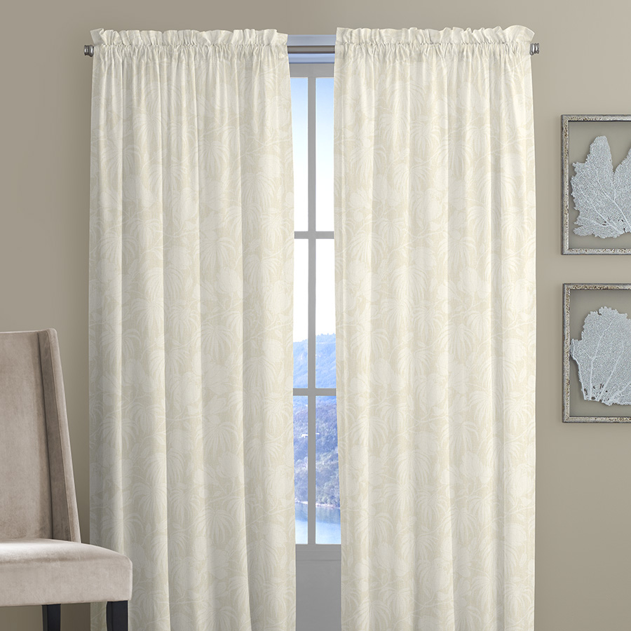 Pair of Drapes Tommy Bahama Plantation Floral