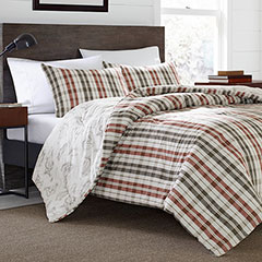 Eddie Bauer Point Permit Plaid Comforter & Duvet Set